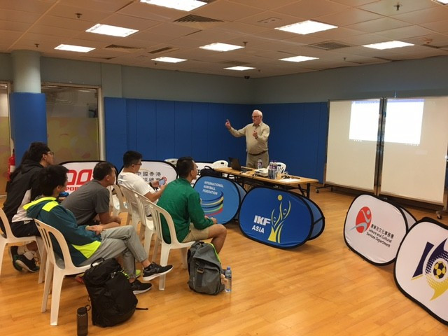 IKF secretary general holds korfball referee course in Chinese Taipei