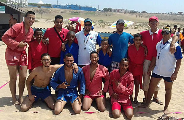 Casablanca holds Morocco's first beach sambo competition