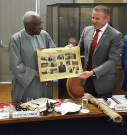Sergey Bubka remains confident he has enough support to succeed Lamine Diack as IAAF President ©Sergey Bubka