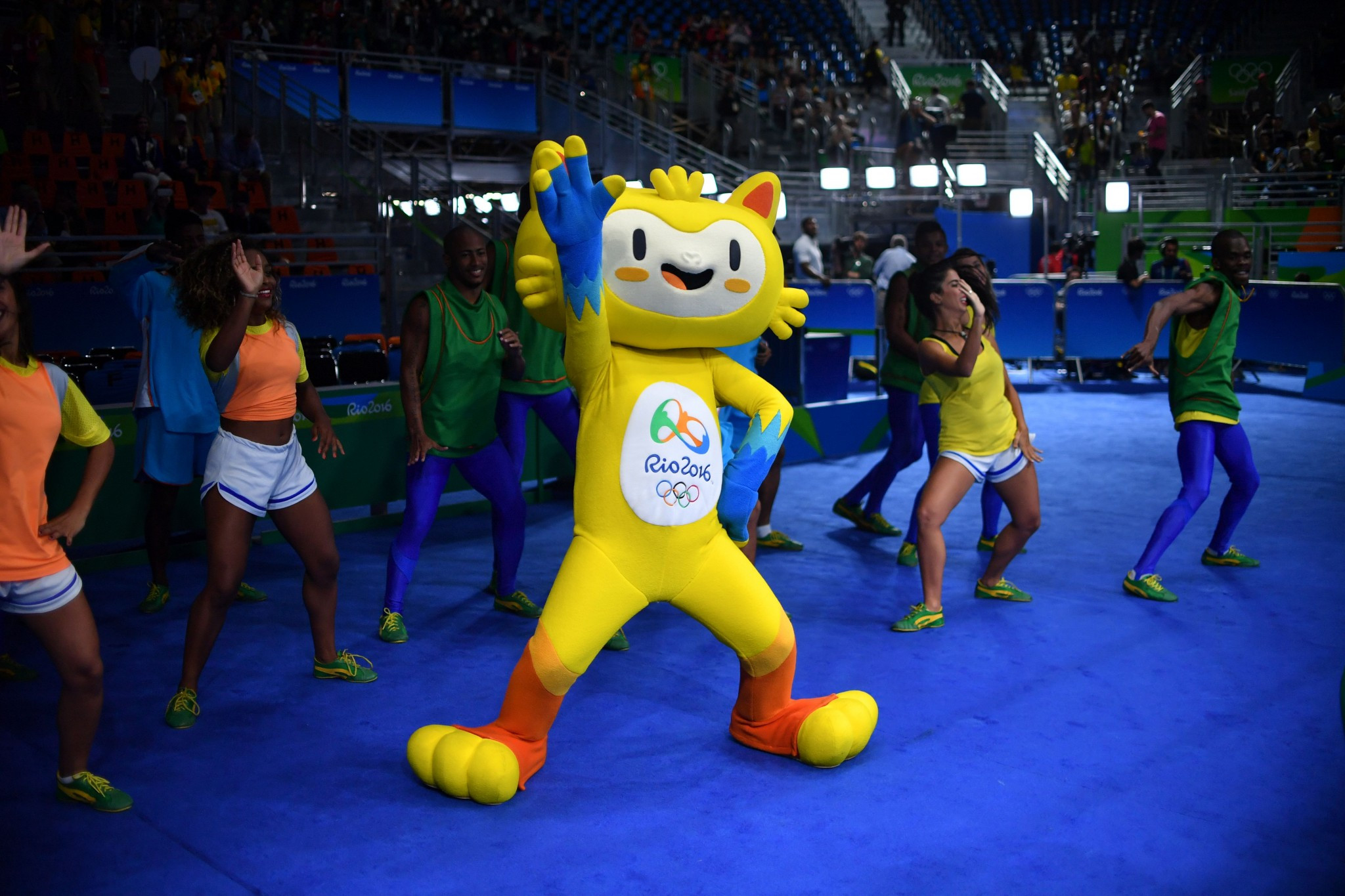 Vinicius was the mascot of the Rio 2016 Olympic Games ©Getty Images
