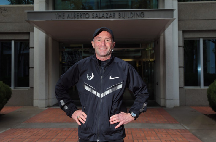Initial findings of a review set up by UK Athletics to look at its links with Alberto Salazar (pictured), the US coach who has been accused by a BBC programme of doping irregularities, has indicated no impopriety in his input to the training regime of Mo Farah ©Getty Images