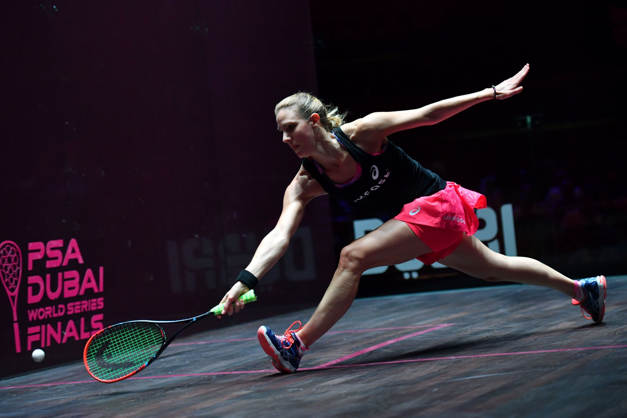 Laura Massaro is the top seed for the women's draw ©Getty Images