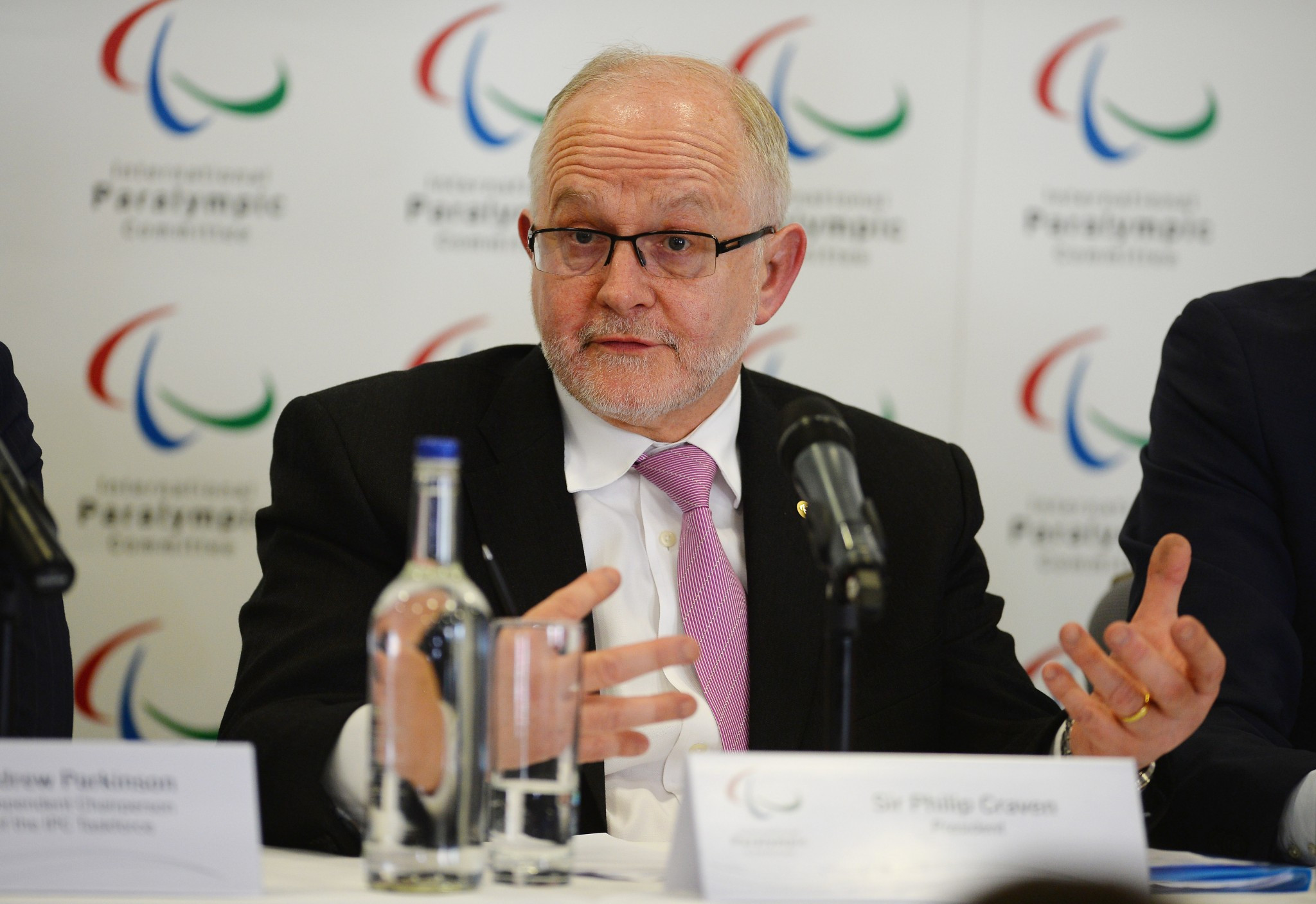 John Petersson is vying to replace Sir Philip Craven as President of the IPC ©Getty Images