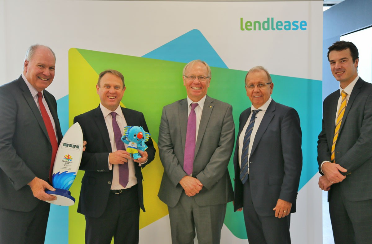 Lendlease named as Gold Coast 2018 delivery partner