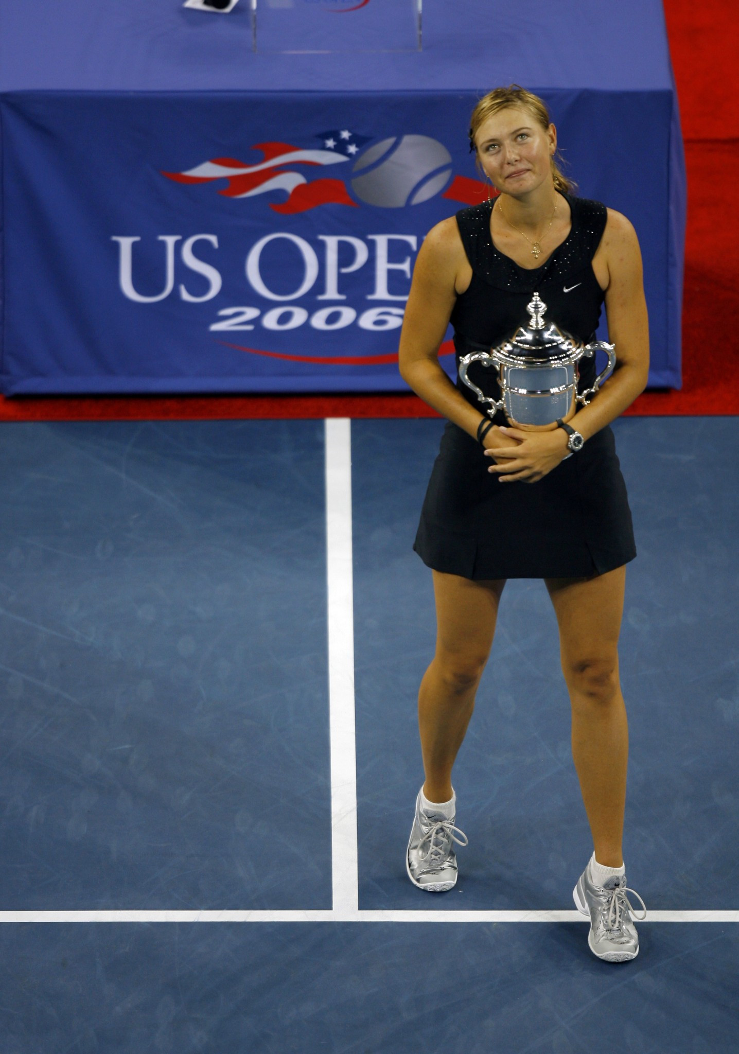 Maria Sharapova won the US Open women's singles title in 2006 ©Getty Images