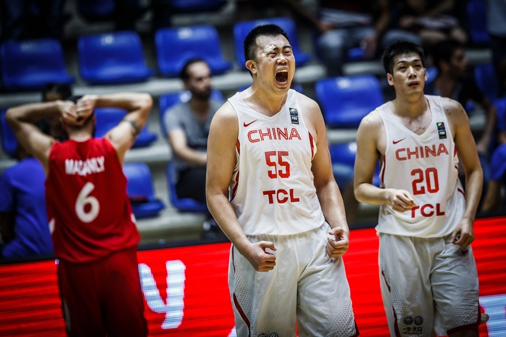 China fight back to beat Syria at FIBA Asia Cup