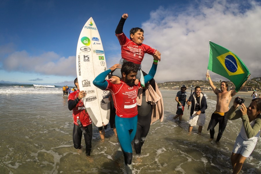 Stance will continue their support of the ISA World Adaptive Surfing Championship ©ISA