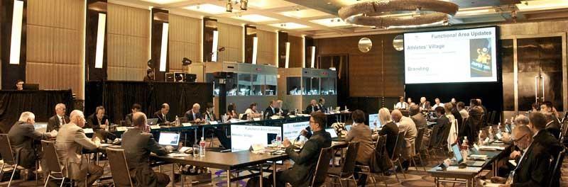 The FISU Executive Committee have met prior to the Summer Universiade ©FISU