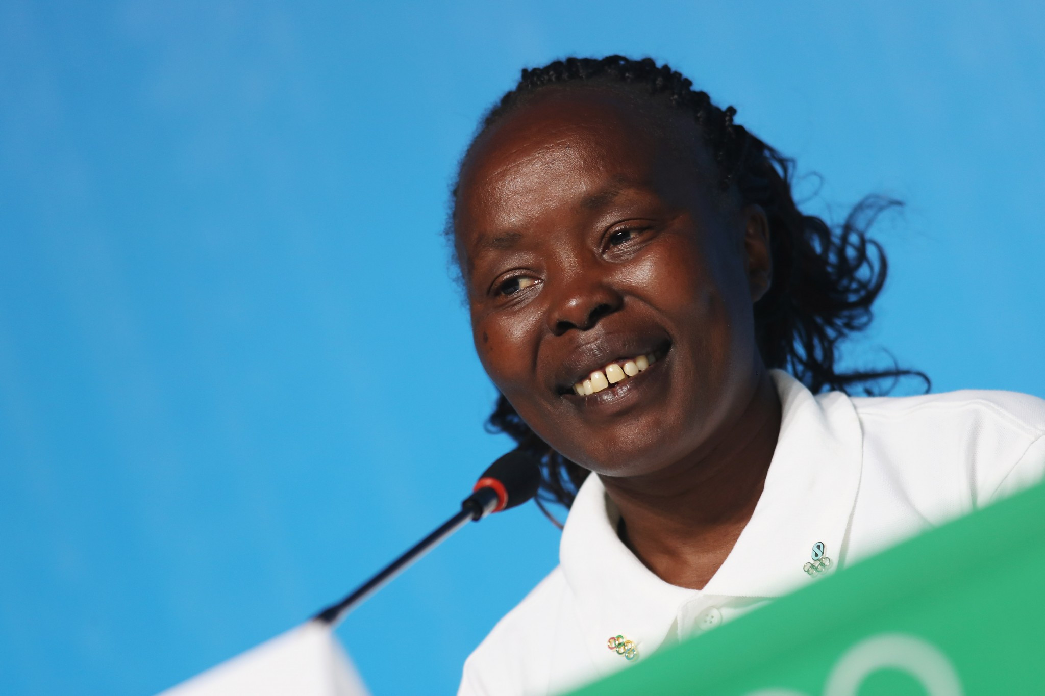 Tegla Loroupe will act as Chef de Mission for the refugee team ©Getty Images