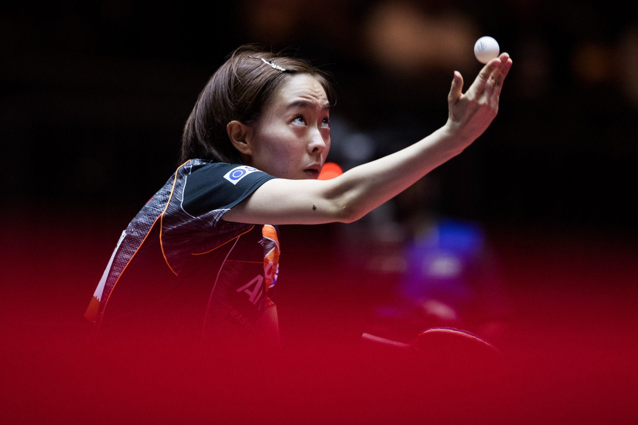 Kasumi Ishikawa is the top seed in the women's singles event ©Getty Images