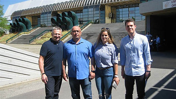 FIAS delegation inspect venue for Youth and Junior World Championships