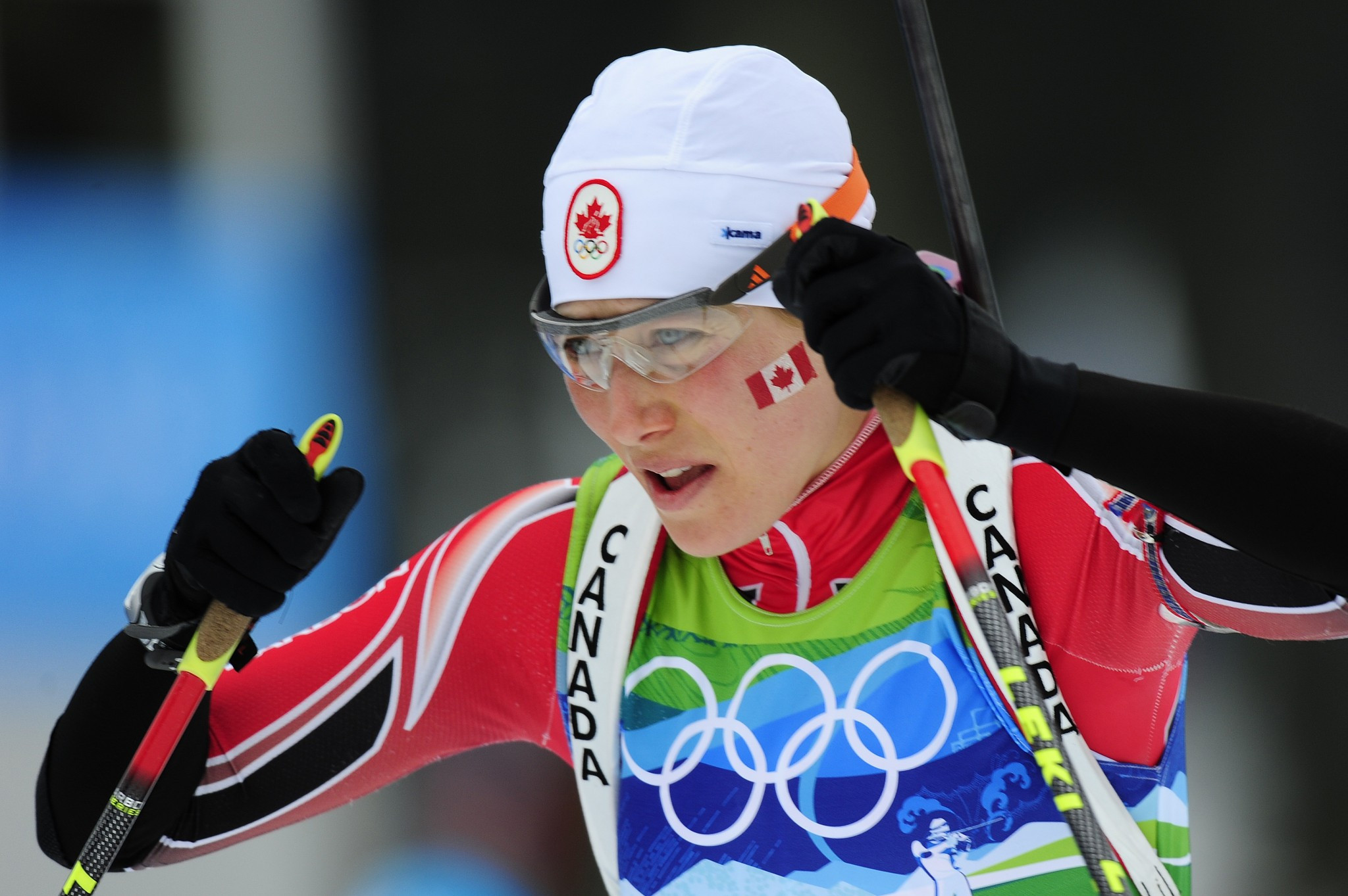 Three-time Winter Olympian Zina Kocher was one athlete coached by Richard Boruta ©Getty Images
