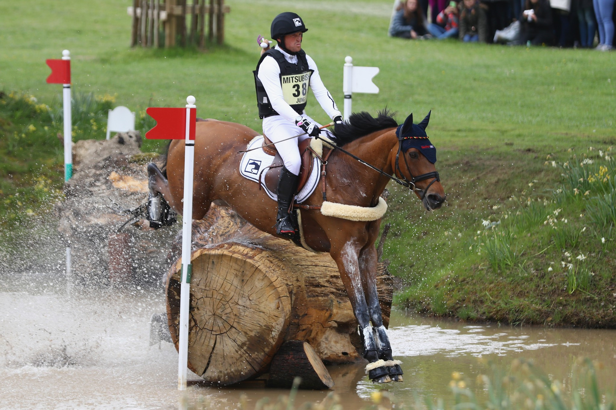 Jung eyes fourth consecutive European eventing crown