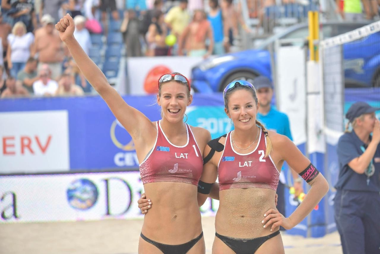 Latvia will host the 2020 European Beach Volleyball Championship ©Getty Images