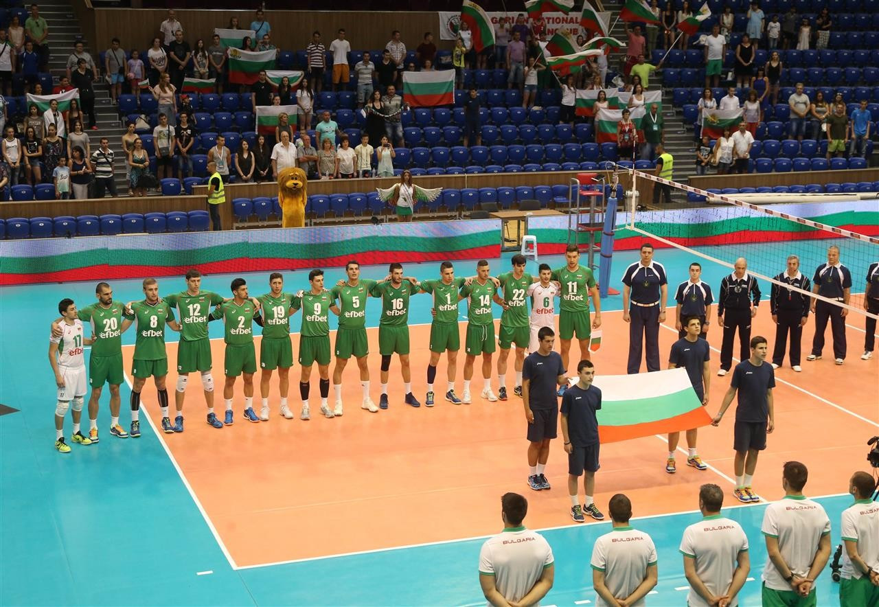 Spas Bayrev formed part of the Bulgarian team at a 2016 European League event ©Getty Images
