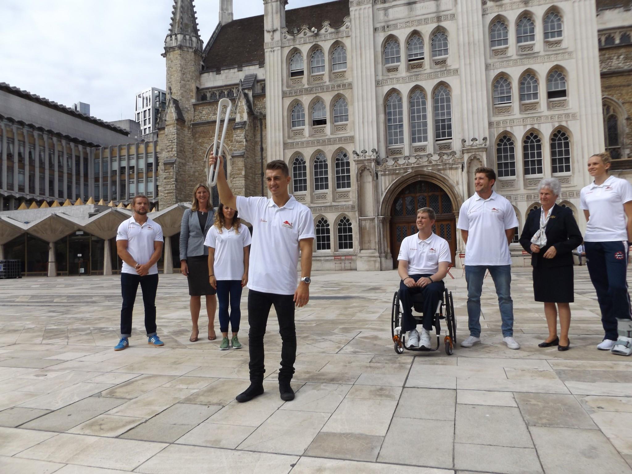 Whitlock among Queen's Baton bearers as Relay returns to London