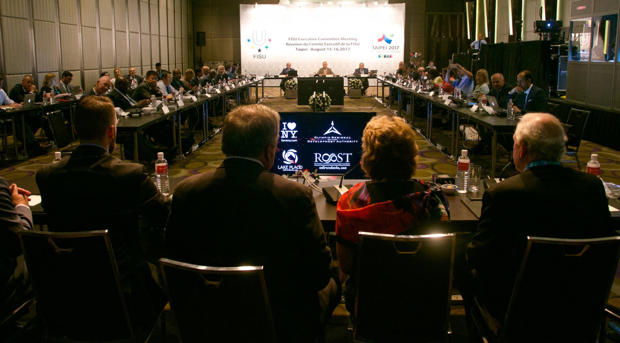 Lake Placid present bid for 2023 Winter Universiade to FISU Executive Committee