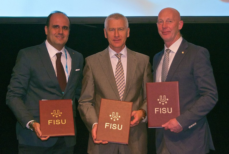 FISU sign agreements with continental federations to boost cooperation
