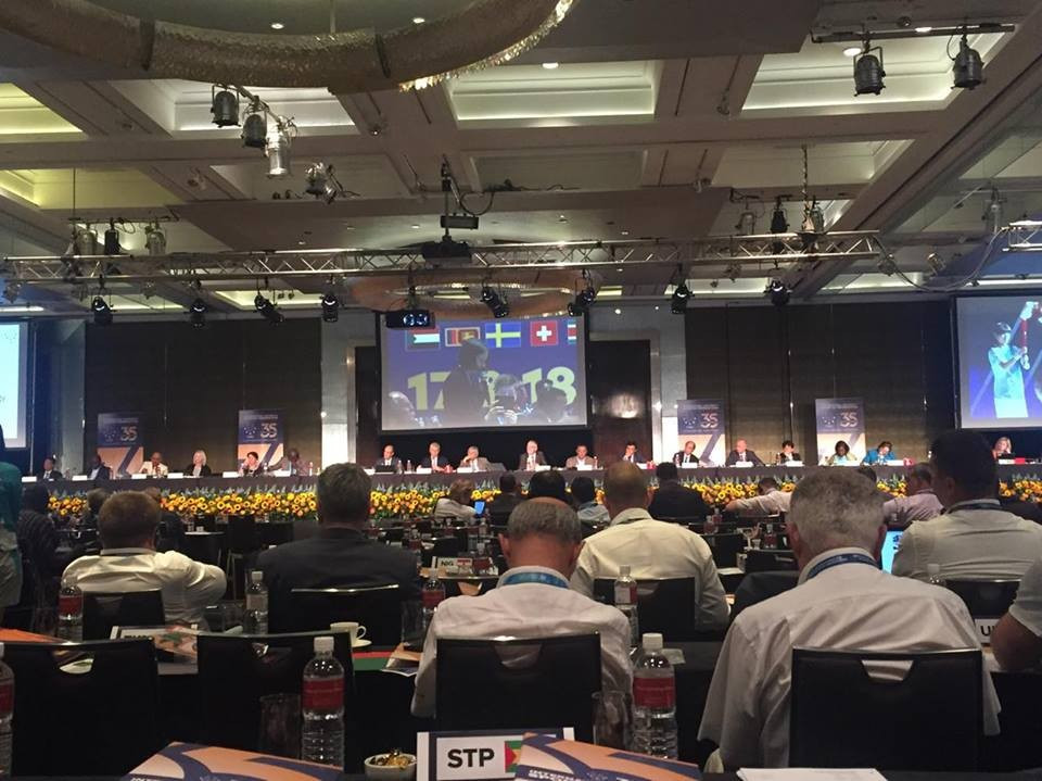 FISU General Assembly approve introduction of term and age limits for Executive Committee members