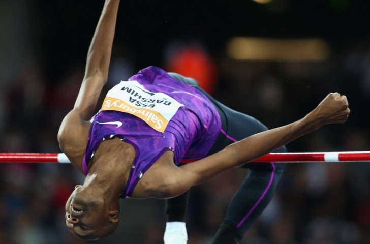 Qatar's Mutaz Essa Barshim, pictured competing in London last weekend, suffered a fourth consecutive IAAF Diamond League defeat in Stockholm, although he remains the leader in the Diamond Race competition ©Getty Images