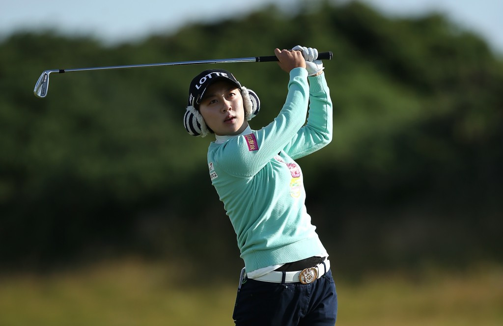 Kim leads the way after opening round of Women's British Open