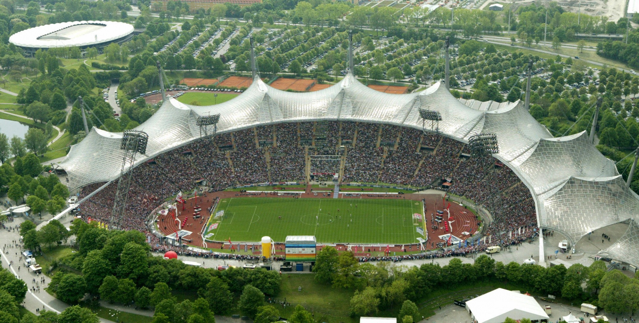 Munich's Olympic Stadium hosting IFSC Bouldering World Cup showdown in men's competition