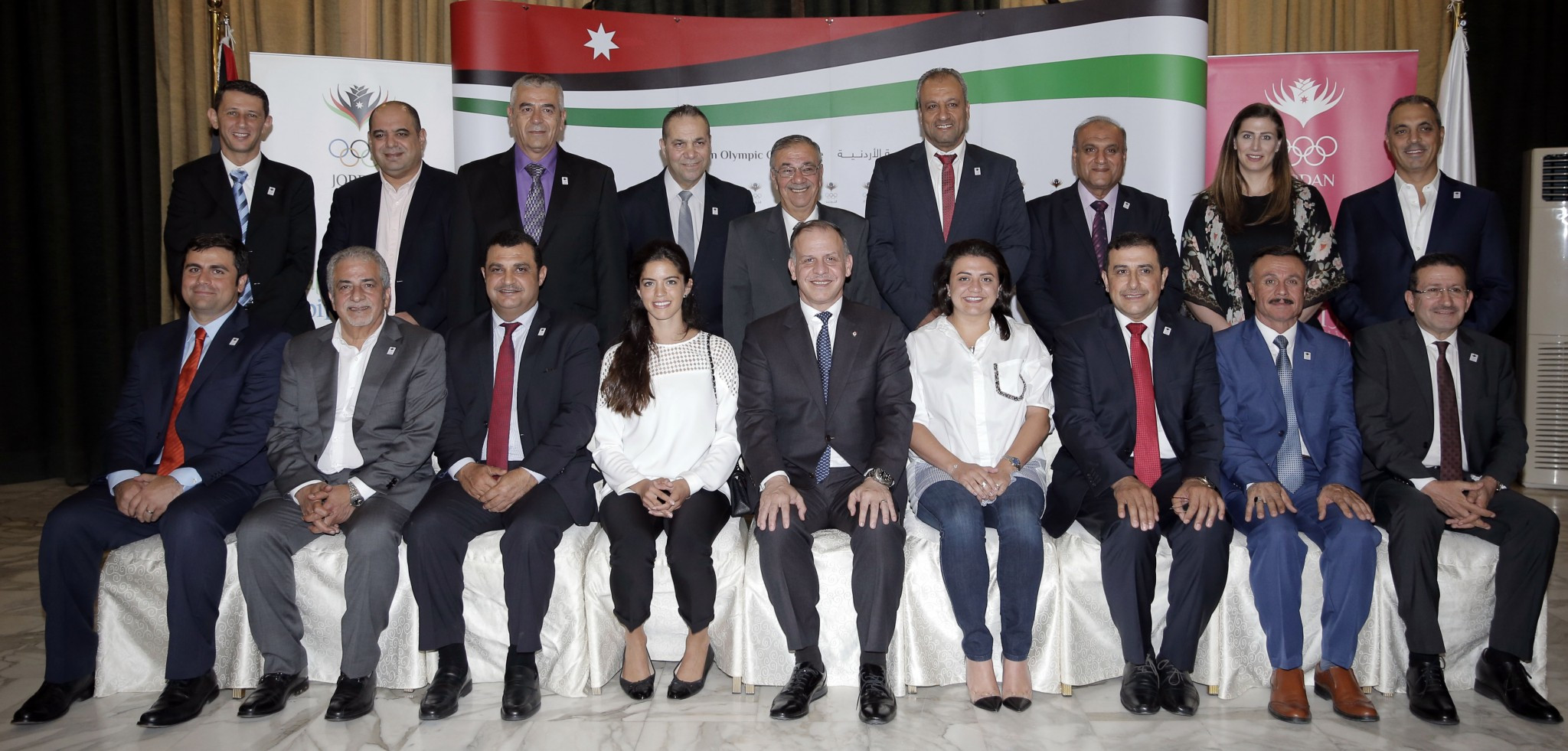 Prince Feisal Al Hussein has been re-elected as President of the Jordan Olympic Committee, along with a new Board ©JOC