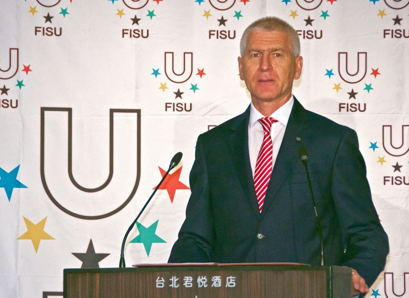 FISU President Oleg Matytsin believes the strategy will help the organisation reach out to more students ©FISU