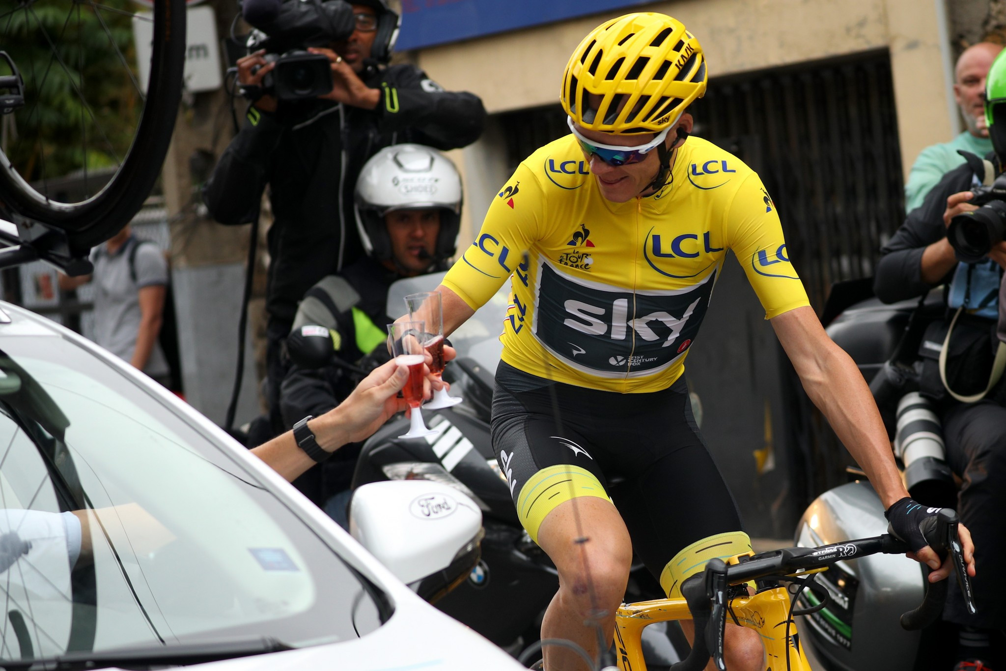 Tour de France winner Chris Froome will seek further success at the Vuelta a Espana ©Getty Images