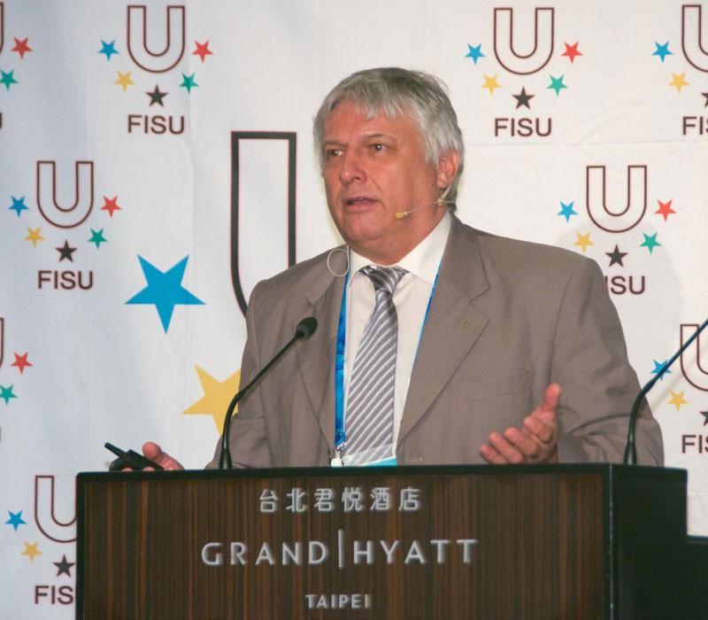 FISU secretary general Eric Saintrond has contacted the EUSA to discuss their handling of the case ©FISU