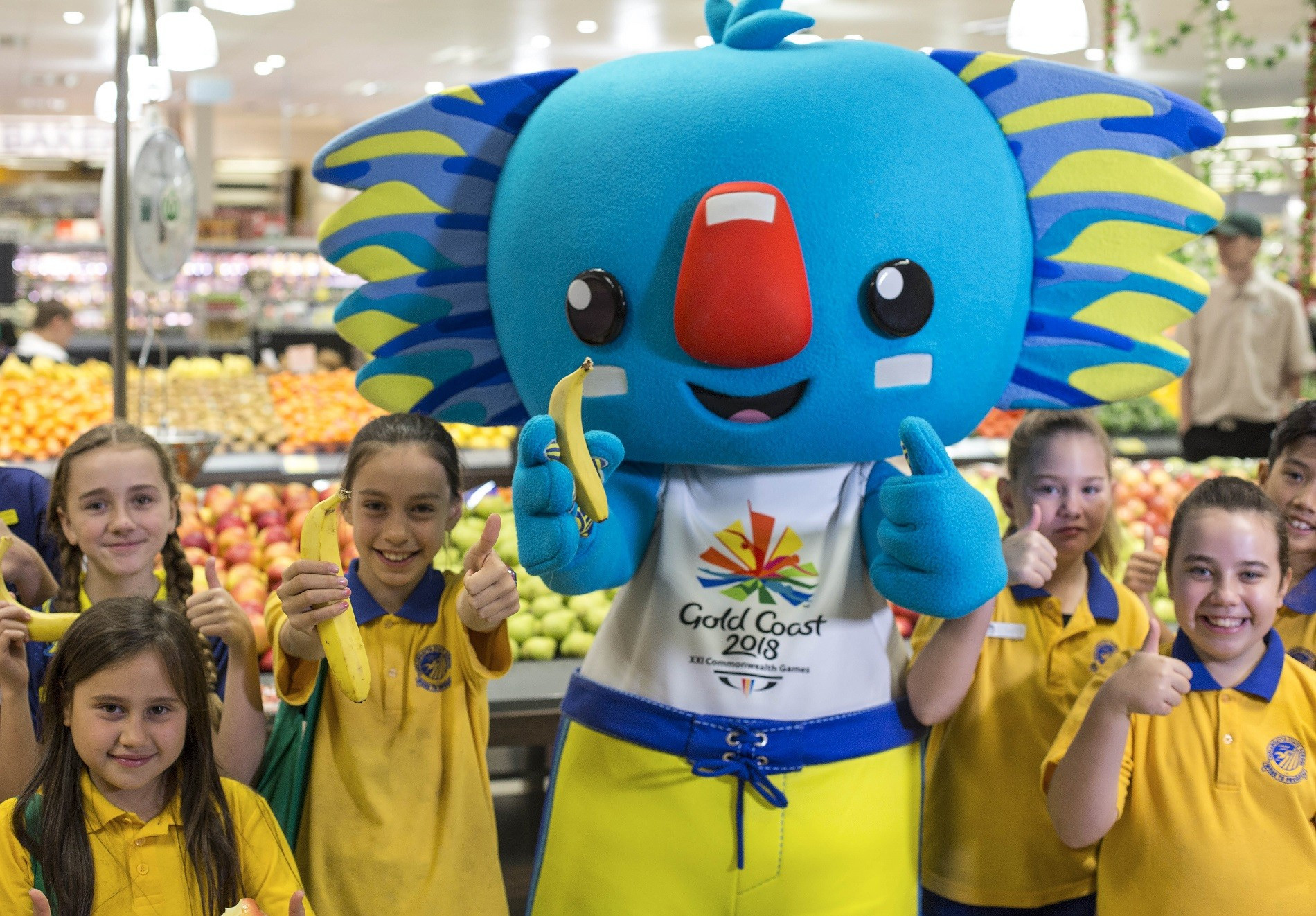 The supermarket chain become the latest company to partner with Gold Coast 2018 ©Gold Coast 2018