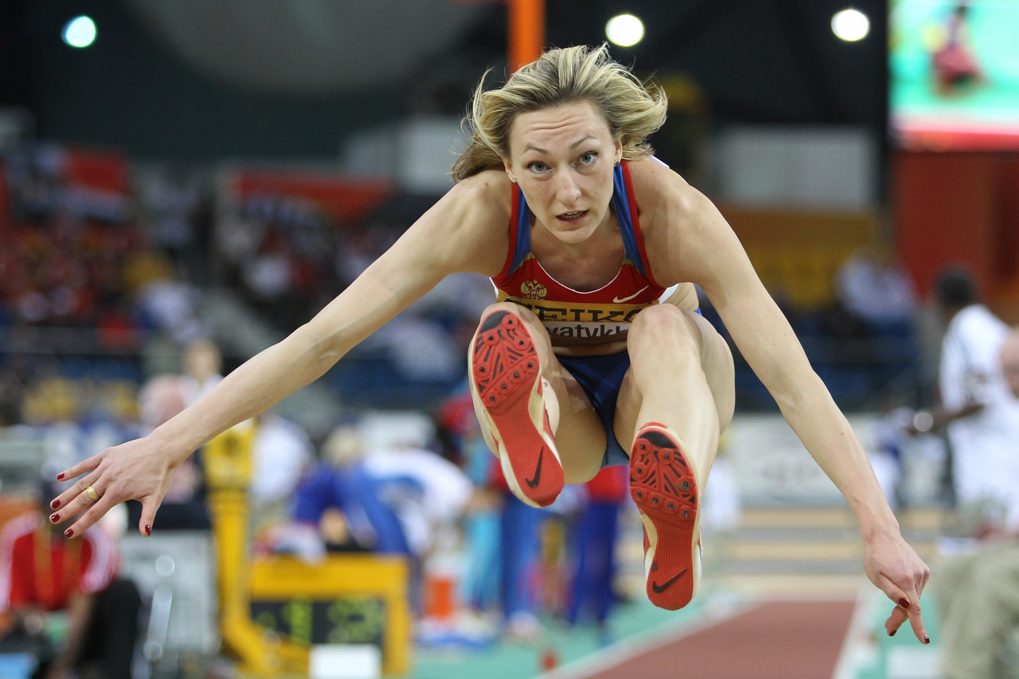 Anna Pyatykh has had her result from the 2007 World Championships annulled as a result of the CAS decision ©Getty Images