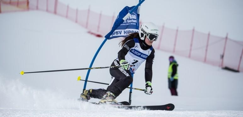 World Championships bronze medallist Jasmin Taylor is among five athletes selected on the elite telemark squad for the upcoming season ©British Ski and Snowboard