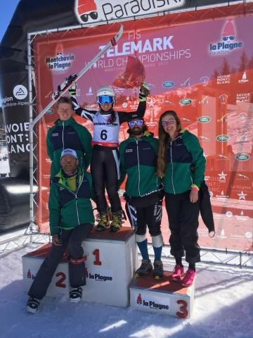 The British telemark team will compete in World Cups and other FIS races in the 2017 to 2018 season ©British Ski and Snowboard