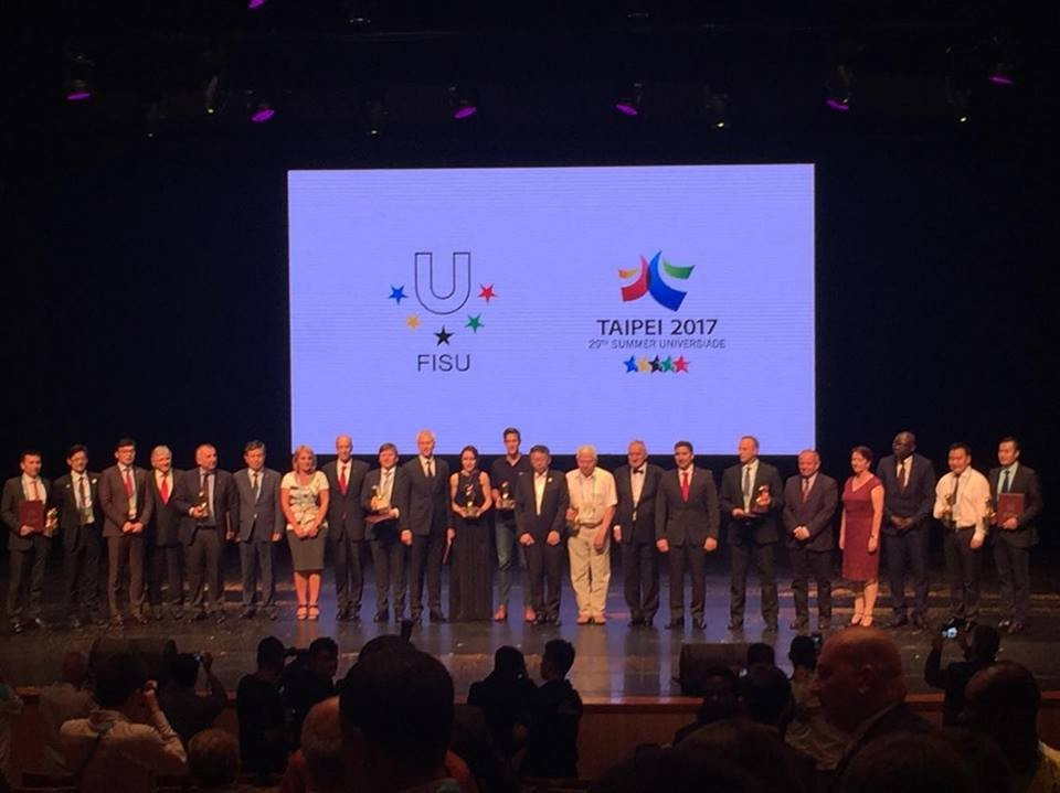 The FISU Gala took place at Taipei City Hall this evening ©ITG