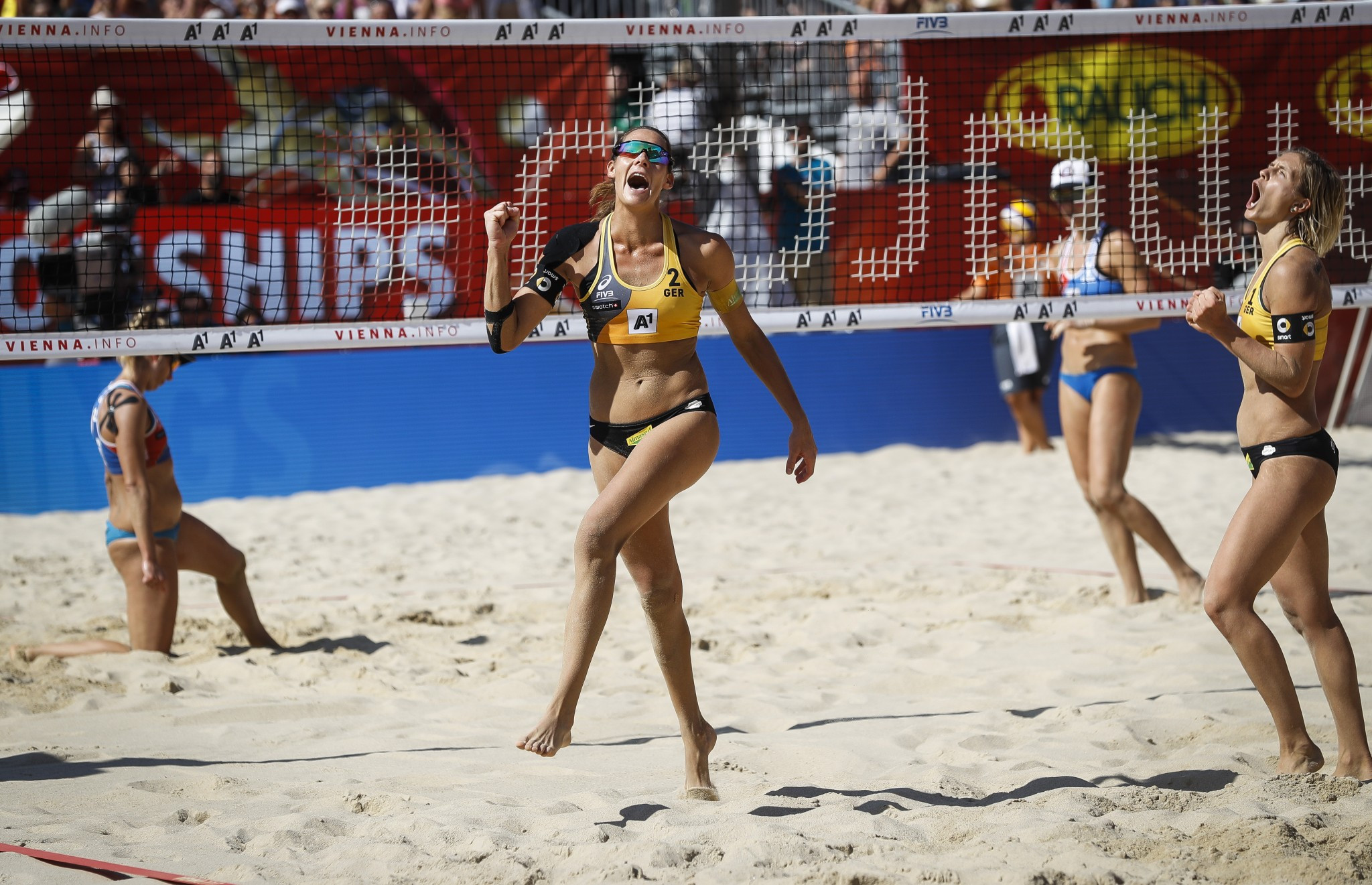 Ludwig and Walkenhorst march on at Beach Volleyball European Championships Final