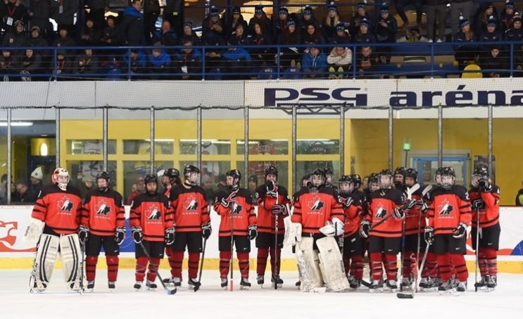 Canada lost to the United States for the third IIHF World Women's Under-18 Championships final in a row in January ©IIHF