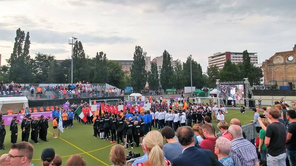 The Opening Ceremony took place before the first match kicked off ©IBSA