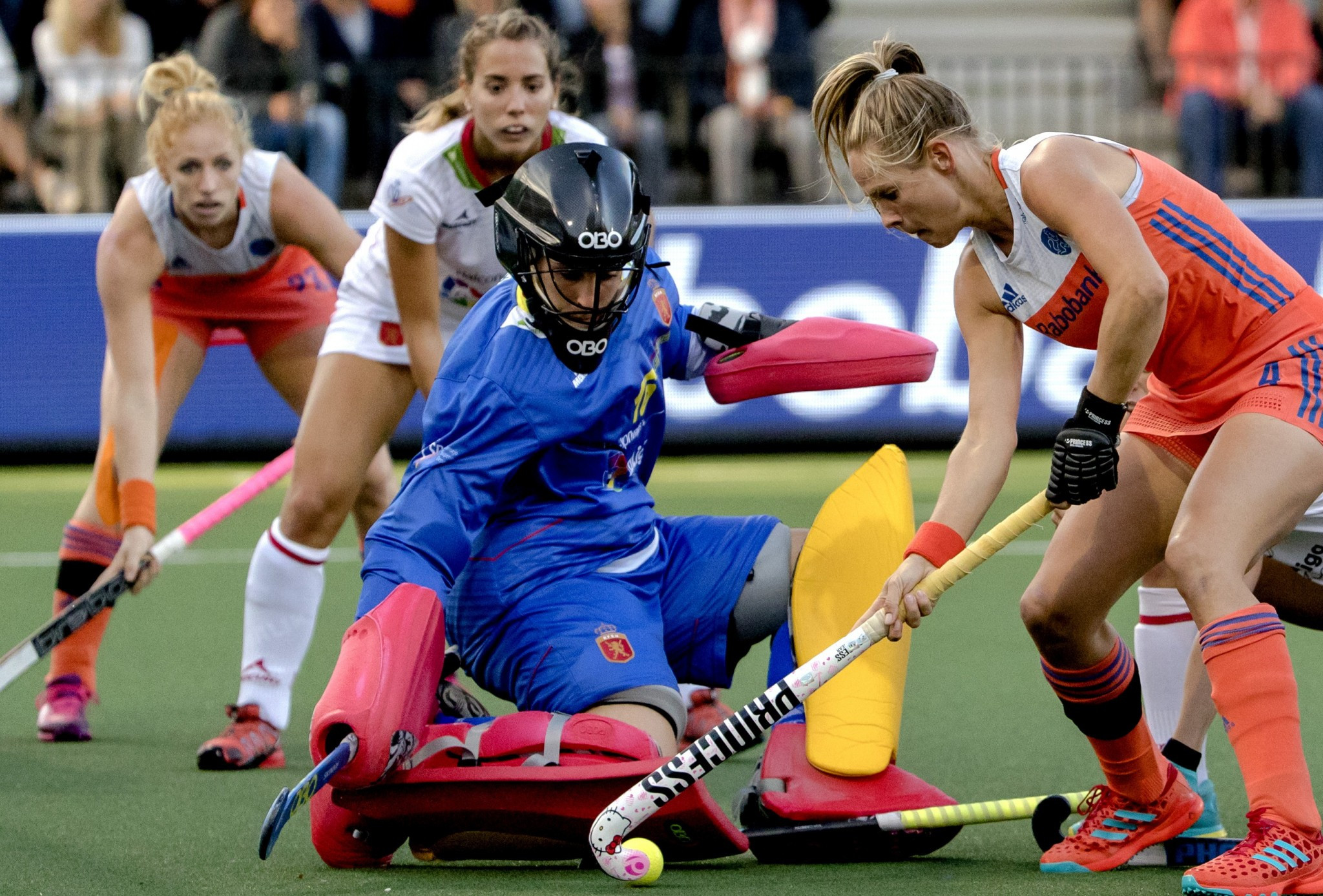 Hosts claim victory on weather interrupted opening day of EuroHockey Championships