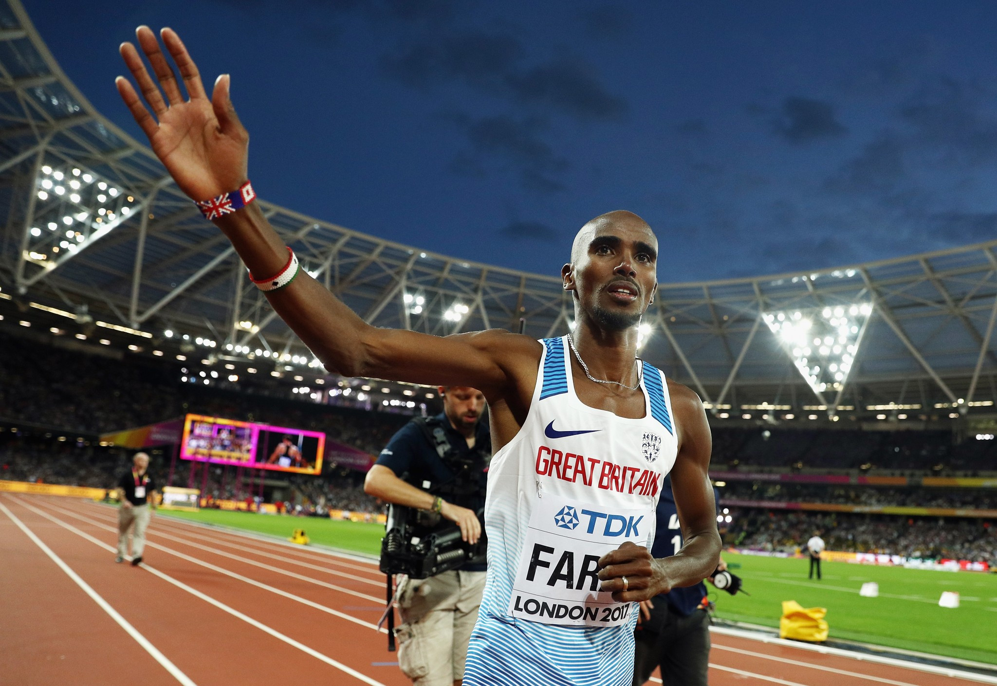 Sir Mo Farah has backed Birmingham's bid for the 2022 Commonwealth Games ©Getty Images