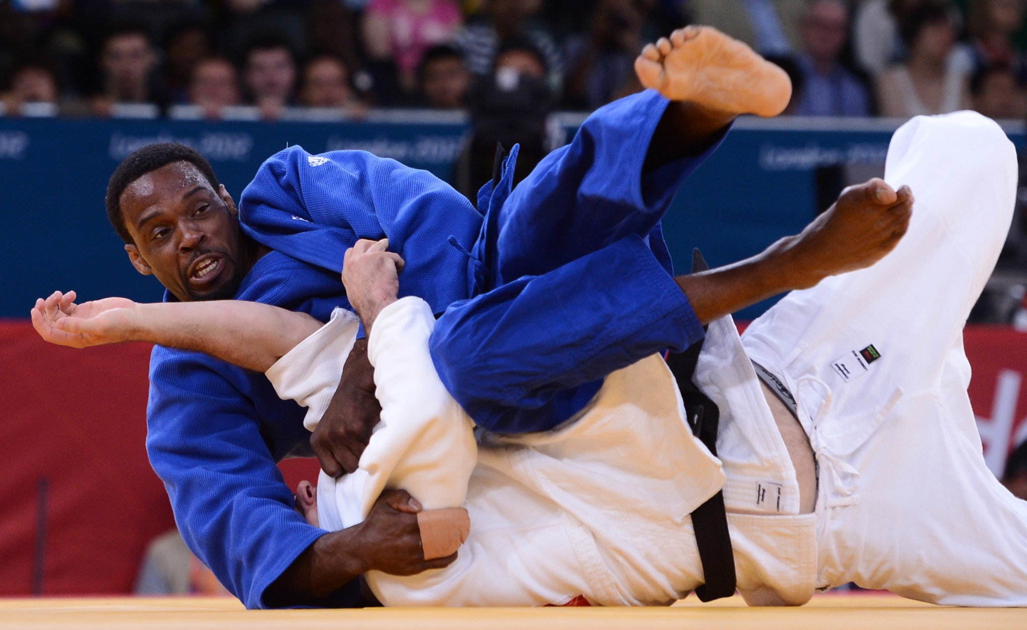 Winston Gordon competed at three Olympics for Great Britain and also won a gold for England at the Manchester 2002 Commonwealth Games ©Getty Images