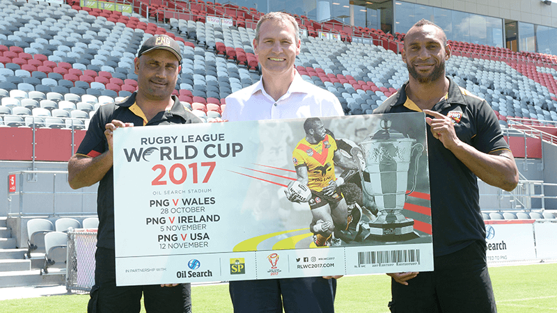 Tickets prices for 2017 Rugby League World Cup games in Papua New Guinea announced