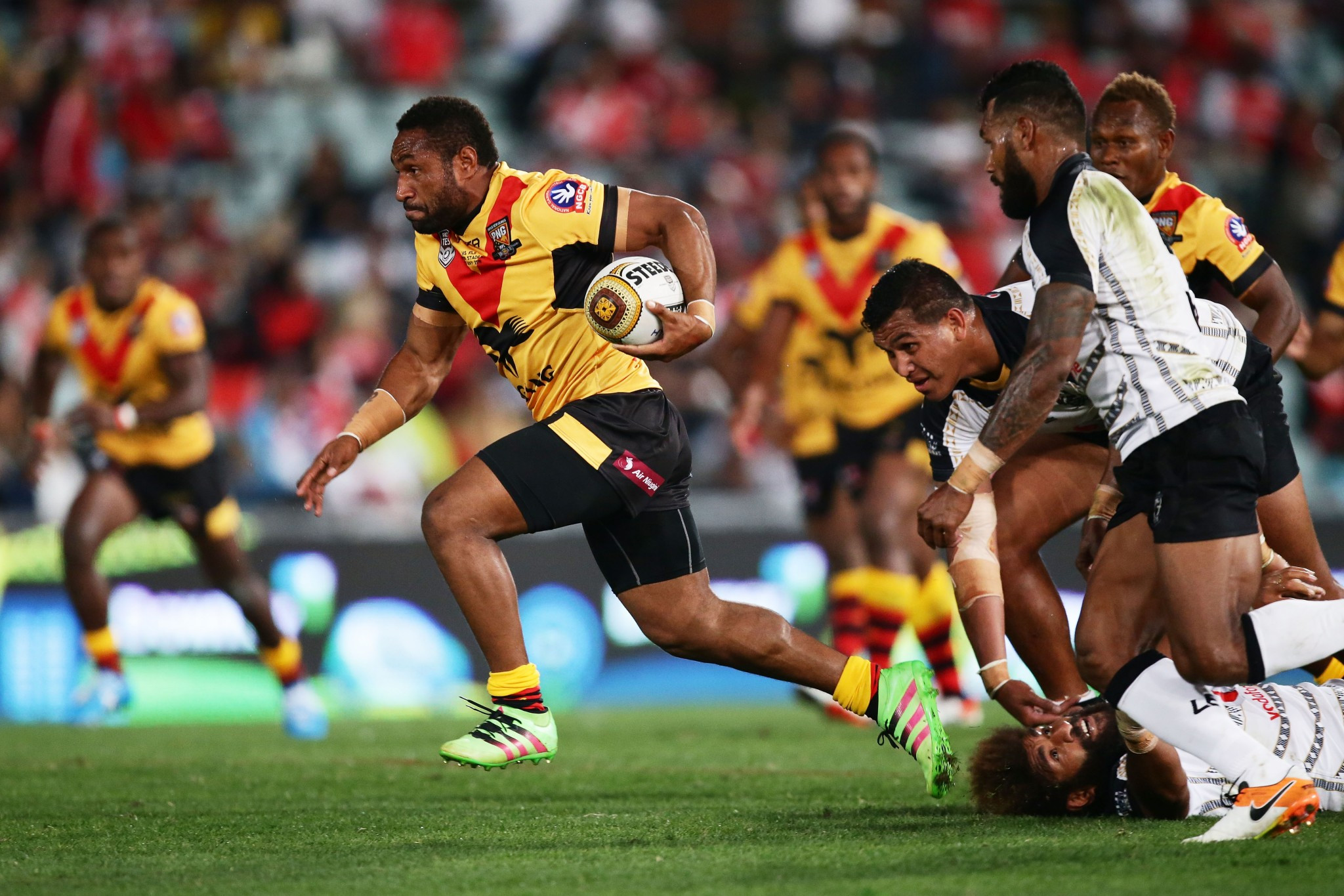 Papua New Guinea will host three games in the group phase of the tournament ©Getty Images