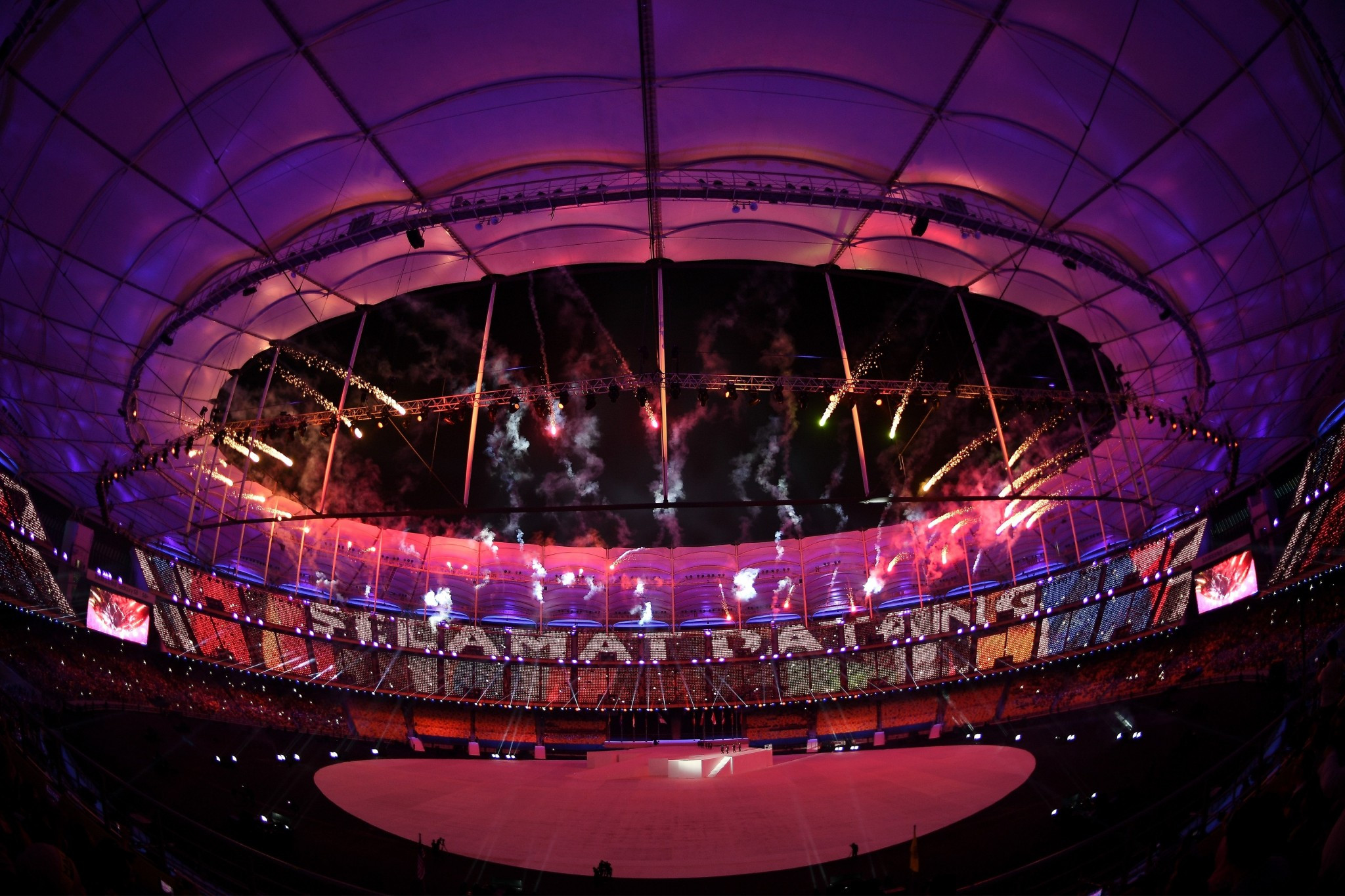 The South East Asian Games in Kuala Lumpur were officially declared open by Malaysian Prime Minister Najib Razak ©Getty Images