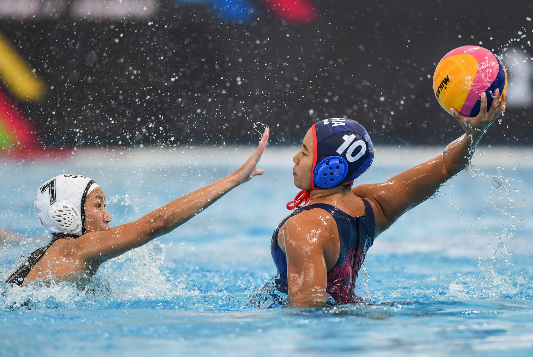 Thailand clinched the gold medal in the women's water polo tournament ©Getty Images