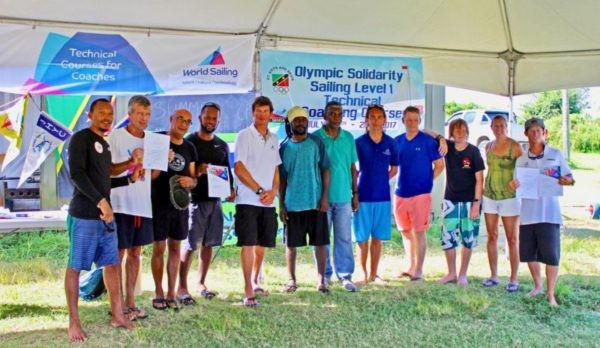 World Sailing course organised with SKNOC funding