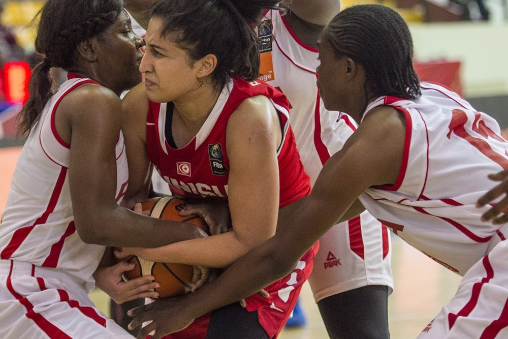 Tunisia bagged their first victory of the tournament as they beat the Central African Republic 96-51 ©FIBA