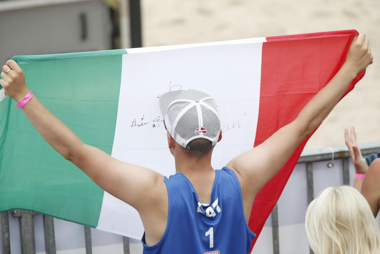 Nicolai and Lupo to take on Latvian duo in men's final at Beach Volleyball European Championships