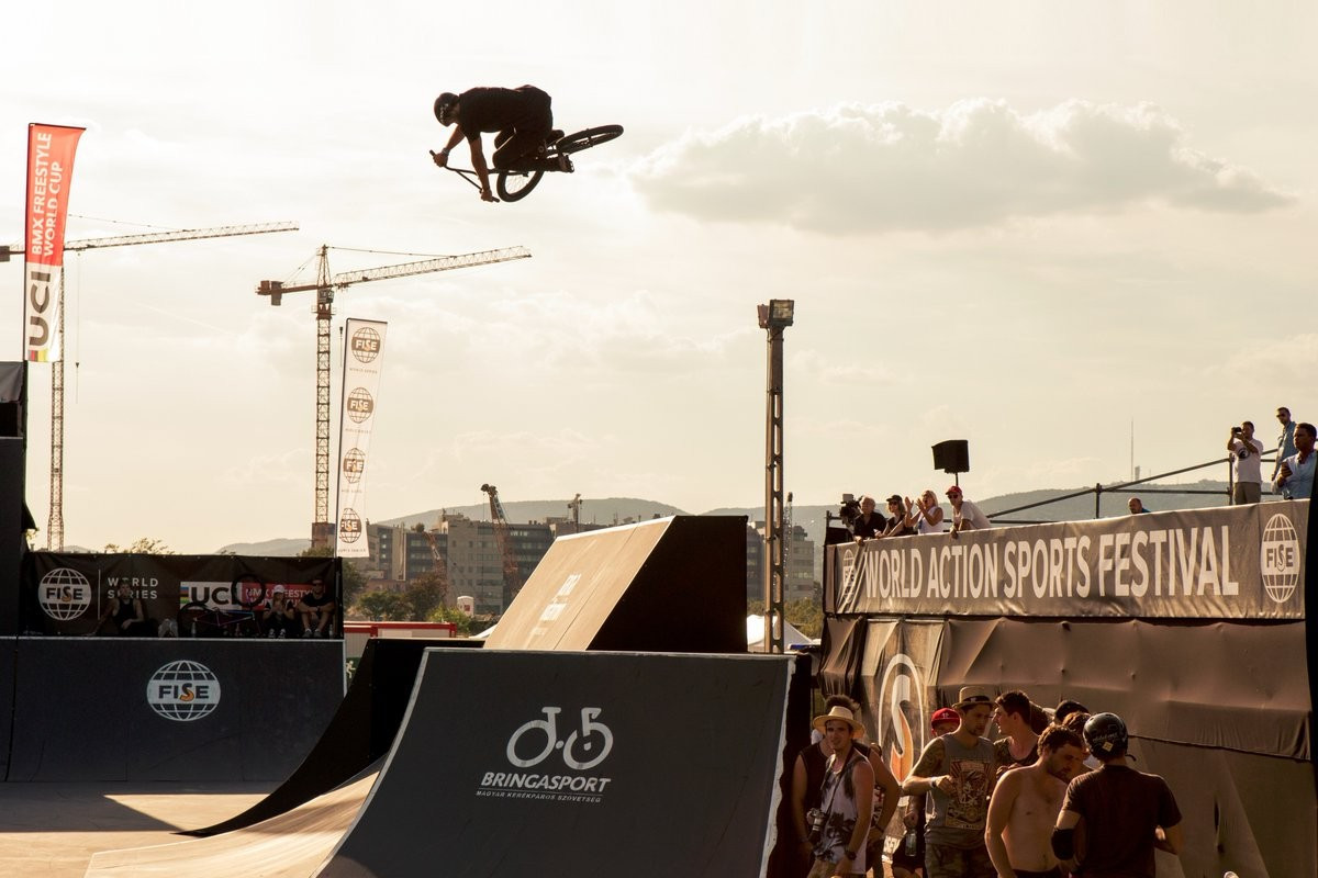 Lessmann strikes gold in BMX Freestyle Park World Cup