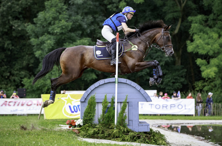 Sweden's Sara Algotsson Ostholt, on Reality 39, produced a clear round ©FEI